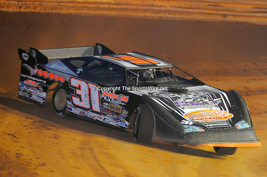 Jan 28, 2010; 6:17:03 PM; Waynesville, GA., USA; The Southern All Stars Racing Series running The Super Bowl of Racing VI at Golden Isles Speedway.  Mandatory Credit: (thesportswire.net)