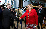 BRUSSELS - BELGIUM - 21 January 2015 -- Erna SOLBERG, Prime Minister of Norway visiting Martin SCHULZ, President of the European Parliament. -- Photo: Juha ROININEN / EUP-IMAGES / Prime Ministers Office