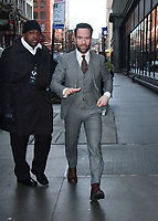 NEW YORK, NY January 23, 2018:Chris Diamantopoulos at Build Series to talk about new show on Pop TV Lets get Physical  in New York City.January 23, 2018. Credit:RW/MediaPunch
