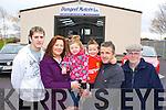 Paul Mangan, Lorrainne, Brenna, Owen, Batty and Sean Foley    Copyright Kerry's Eye 2008