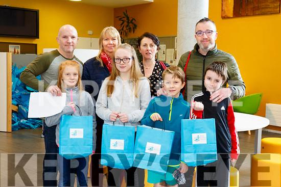 At the IT Tralee Kerry Science Festival on Saturday were Ava O'Brien, Erin O'Brien, Finn O'Brien, Luke O'Brien, Mark O'Brien, Patricia Bennett, Eleanor Redmond and Joe O'Brien