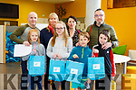 At the IT Tralee Kerry Science Festival on Saturday were Ava O'Brien, Erin O'Brien, Finn O'Brien, Luke O'Brien, Mark O'Brien, Patricia Bennett, Eleanor Redmond and Joe O'Brien