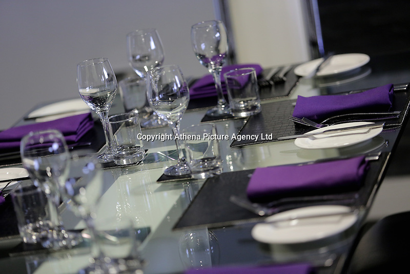 Copper 21 hospitality suite during the Premier League match between Swansea City and Chelsea at The Liberty Stadium on September 11, 2016 in Swansea, Wales.