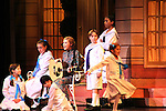 Guiding Light's Mandy Bruno and von Trapp children star in the Sound of Music as Maria and Captain von Trapp in a national tour now at Wolf Trap National Park for the Performing Arts in Vienna, Virginia on September 1, 2010.