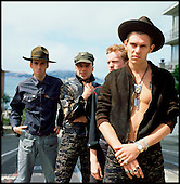 1982: THE CLASH - Photosession in San Francisco CA USA