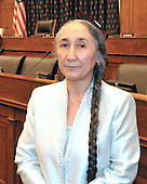 "Washington, DC - June 10, 2009 -- Mrs. Rebiya Kadeer, President, World Uyghur Congress, poses for a photo after giving testimony before the United States House Committee on Foreign Affairs Subcommittee on International Organizations, Human Rights and Oversight on ""The Uyghurs: A History of Persecution"" in Washington, D.C. on Wednesday, June 10, 2009..Credit: Ron Sachs / CNP..(RESTRICTION: NO New York or New Jersey Newspapers or newspapers within a 75 mile radius of New York City)"