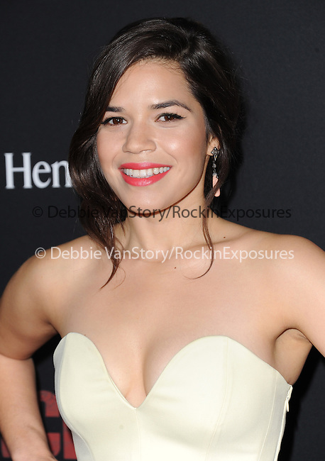 America Ferrera attends The  Cesar Chavez Los Angeles Premiere held at TCL Chinese Theatre in Hollywood, California on March 20,2014                                                                               © 2014 Hollywood Press Agency