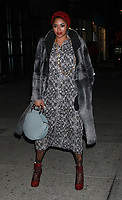 NEW YORK, NY - March 07: Alicia Quarles arriving to Bravo's premiere of  Project Runway at Vandal in New York City on March 07, 2019. <br /> CAP/MPI/RW<br /> &copy;RW/MPI/Capital Pictures