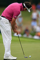\\ takes his putt on the 8th green during Thursday's Round 1 of the 2014 PGA Championship held at the Valhalla Club, Louisville, Kentucky.: Picture Eoin Clarke, www.golffile.ie: 7th August 2014