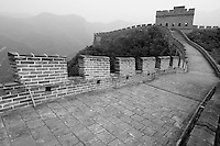 Great Wall at Juyongguan Gate, near Badaling, Beijing, China.