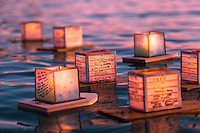 15th Annual Lantern Floating Ceremony, Honolulu