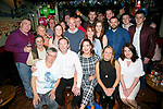 Joe Sheridan, Marian Park, Tralee, celebrates his 40th birthday with family and friends at Turners Bar on Friday