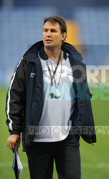 SaleSharks coach Mike Brewer