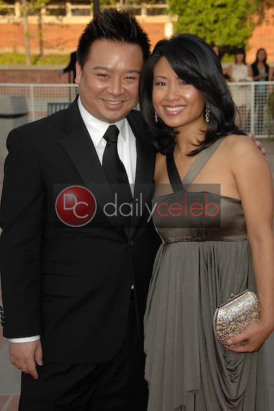 Rex Lee and guest<br />at the 2008 JC Penny Asian Excellence Awards. Royce Hall, UCLA, Westwood, CA. 04-23-08<br />Dave Edwards/DailyCeleb.com 818-249-4998