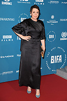 Olivia Colman<br /> arriving for the British Independent Film Awards 2018 at Old Billingsgate, London<br /> <br /> ©Ash Knotek  D3463  02/12/2018