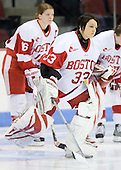 Melissa Haber (BU - 33) - The Boston University Terriers defeated the Providence College Friars 5-3 on Saturday, November 14, 2009, at Agganis Arena in Boston, Massachusetts.