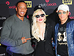 Dr. Dre,Lady Gaga & Jimmy Iovine make an appearance in support of her new cd The Fame Monster! and also for Heartbeats by Lady Gaga headphones. The appearance took place at Best Buy in Los Angeles, California on November 23,2009                                                                   Copyright 2009 DVS / RockinExposures