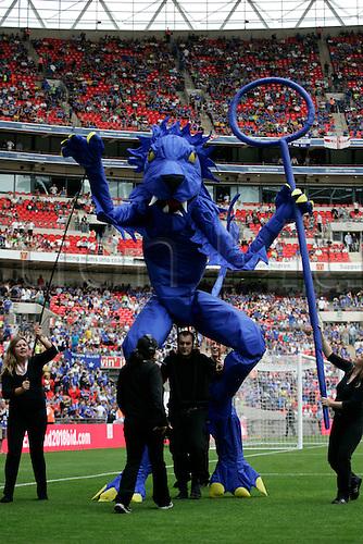 FA Community Shield.Chelsea 2 Manchester United 2 (4-1 on penalties).Sunday 9 August 2009.Wembley Stadium, London.(Photo: ActionPlus)