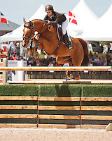 Teirra ridden by Laura Kraut,  USEF trials#2 Wellington Florida. 3-22-2012