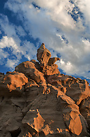 746000056 summer thunderstorm clouds form up over the hoodoos in fantasy canyon blm lands utah united states