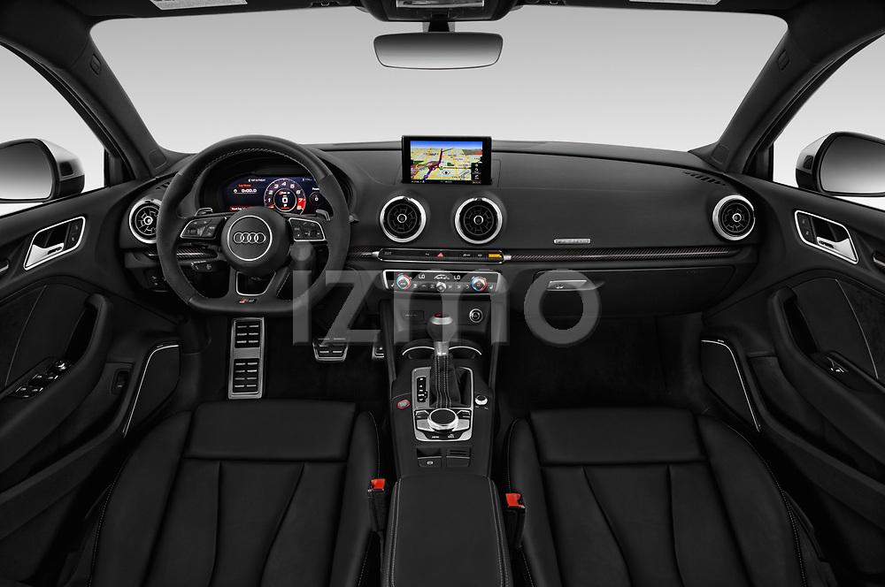 2018 Audi Rs 3 4wd 4 Door Sedan Dashboard Stockphoto Izmostock