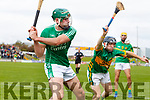 Eoin Ross Ballyduff in action against Colin Sheehy Lixnaw in the Senior County Hurling Final in Austin Stack Park on Sunday