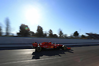 28th February 2020; Circuit De Barcelona Catalunya, Barcelona, Catalonia, Spain; Formula 1 Pre season Testing Week Two, Day 3; Scuderia Ferrari, Charles Leclerc