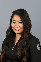 STANFORD, CA-October 16, 2014- Melissa Chuang of the Stanford Womens Gymnastics Team
