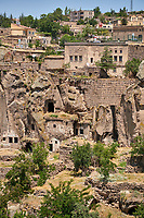 "Pictures & images of Guzelyurt cave city across the the Vadisi Monastery Valley, ""Manastır Vadisi"",  Ihlara Valley, Guzelyurt , Aksaray Province, Turkey."