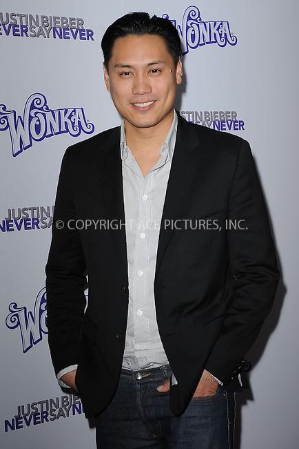 WWW.ACEPIXS.COM . . . . . .February 2, 2011...New York City....Jon M Chu attends the New York premiere of 'Justin Bieber Never Say Never'  on February 2, 2011 in New York City....Please byline: KRISTIN CALLAHAN - ACEPIXS.COM.. . . . . . ..Ace Pictures, Inc: ..tel: (212) 243 8787 or (646) 769 0430..e-mail: info@acepixs.com..web: http://www.acepixs.com .