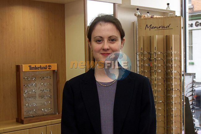 Rosemary Critchley receptionist at Keenans Optical opticians in Dyer St..Picture: Arthur Carron/Newsfile