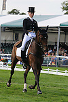 Lucy Jackson during day 2 of the dressage phase at the 2012 Land Rover Burghley Horse Trials in Stamford, Lincolnshire,UK.