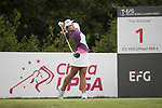 Golfer Kanyalak Preedasuttijit of Thailand during the 2017 Hong Kong Ladies Open on June 9, 2017 in Hong Kong, China. Photo by Chris Wong / Power Sport Images