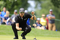 Henrik Stenson (SWE) at the 2nd green during Sunday's Final Round of the WGC Bridgestone Invitational 2017 held at Firestone Country Club, Akron, USA. 6th August 2017.<br /> Picture: Eoin Clarke | Golffile<br /> <br /> <br /> All photos usage must carry mandatory copyright credit (&copy; Golffile | Eoin Clarke)