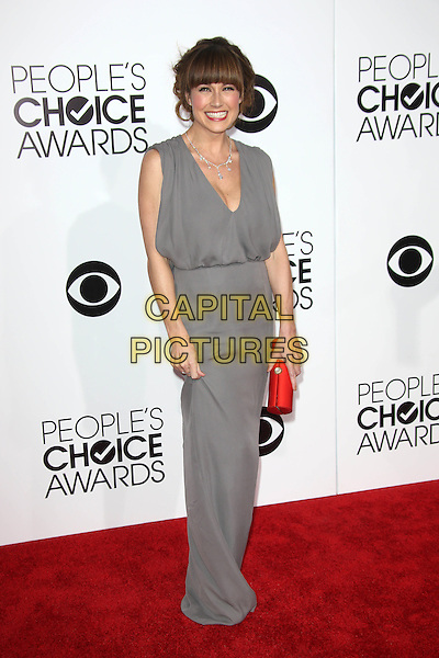 LOS ANGELES, CA - JANUARY 8: Nikki DeLoach at the 40th Annual People's Choice Awards at the Nokia Theatre in Los Angeles,California on January 8, 2014. <br /> CAP/MPI/JO<br /> &copy;Janice Ogata/MPI/Capital Pictures
