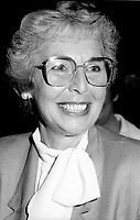 "Montreal (QC) Canada- -July 31 1984  File Photo - <br /> Sheila Finestone (R) choosen as liberal candiate for the  riding of Mount Royal over William Dery... In 1984 she was elected as a Liberal Member of Parliament for the Montreal riding of Mount Royal. She was re-elected in the 1988, 1993 and 1997 elections.<br /> <br /> Finestone was sworn to the Privy Council in November 1993 as Secretary of State (Multiculturalism and Status of Women). Finestone was appointed to the Senate of Canada in August 1999. She completed her term in the Senate in 2002 when she reached the mandatory retirement age of 75.<br /> <br /> She was a member of the board of the Canadian Landmine Foundation.<br /> <br /> In 2008, Finestone was the recipient of the Distinguished Service Award of the Canadian Association of Former Parliamentarians,[2] ""presented annually to a former parliamentarian who has made an outstanding contribution to the country and its democratic institutions.""[3] The award was accepted on her behalf by her son Peter, due to Finestone's inability to attend, following health challenges.[4]"