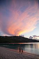 Sunset at Magen's Bay<br /> St. Thomas<br /> US Virgin Islands