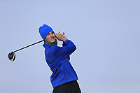 Tiarnan McLarnon (Massereene) during the first round of matchplay at the 2018 West of Ireland, in Co Sligo Golf Club, Rosses Point, Sligo, Co Sligo, Ireland. 01/04/2018.<br /> Picture: Golffile | Fran Caffrey<br /> <br /> <br /> All photo usage must carry mandatory copyright credit (&copy; Golffile | Fran Caffrey)