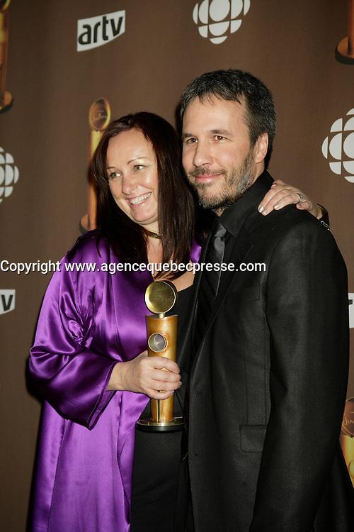 Montreal (Qc) CANADA - March 29 2009 - Jutras award  Gala (for Quebec Cinema) : Denis Villeneuve