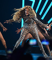 MINNEAPOLIS, MN - FEBRUARY 3: Jennifer Lopez performs on the DIRECTV NOW Super Saturday Night Featuring Jennifer Lopez at NOMADIC LIVE! at The Armory on February 3, 2018 in Minneapolis, Minnesota. (Photo by Frank Micelotta/PictureGroup)