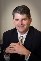 SRU Athletic Director Collin Sullivan