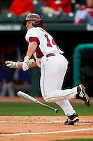Jarrod McKinney (14);March 9th, 2010; South Dakata State University vs Arkansas Razorbacks at Baum Stadium in Fayetteville Arkansas. Photo by: William Purnell/Four Seam Images