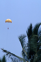 Person parasailing in Puerto Vallarta, Jalisco, Mexico