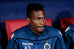 Club Brugge's Emmanuel B. Dennis during UEFA Champions League match between Atletico de Madrid and Club Brugge at Wanda Metropolitano Stadium in Madrid, Spain. October 03, 2018. (ALTERPHOTOS/A. Perez Meca)