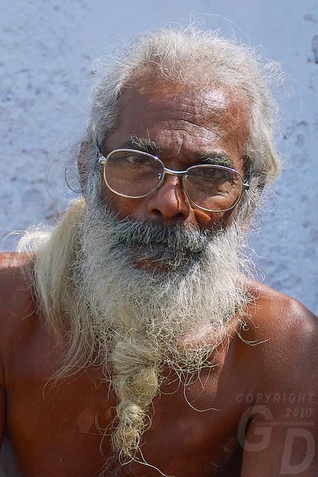 Portrait inside Galle, Sri Lanka