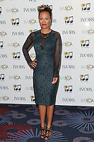 Emeli Sande arriving for the 59th Ivor Novello Awards, at the Grosvenor House Hotel, London. 22/05/2014 Picture by: Alexandra Glen / Featureflash