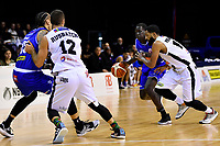 Saints&rsquo; Sunday Dech in action during the NBL - Cigna Saints v Bay Hawks at TSB Bank Arena, Wellington, New Zealand on Friday 12 April 2019. <br /> Photo by Masanori Udagawa. <br /> www.photowellington.photoshelter.com