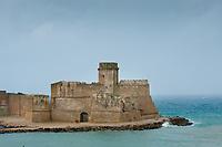 Fortezza Aragonese at Isola Capo di Rizzuto, Calabria, Italy