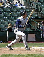 April 11, 2004:  Glenn Williams of the Syracuse Sky Chiefs, Class-AAA International League affiliate of the Toronto Blue Jays, during a game at Frontier Field in Rochester, NY.  Photo by:  Mike Janes/Four Seam Images