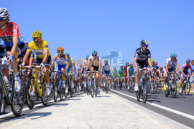 The first stage of the 2010 Tour de France, 4th July 2010 (Photo by Manus OReilly/NEWSFILE)